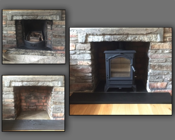 FDC FP5, multifuel stove, fireplace installation, bristol stove installer, tjdavy focal fires, wood burning stove
