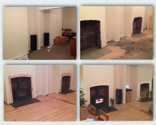 Yeoman Exe multi fuel stove, HETAS, Bristol stove installer, wood burning, multifuel stove installation