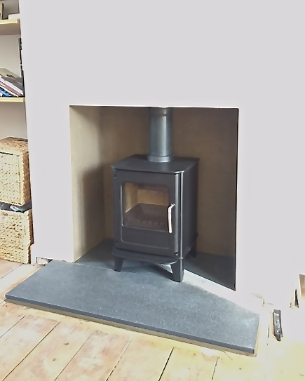Morso 04, multifuel stove, fireplace opening, stove