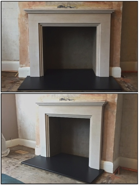 Fireplace, fireplace installation,