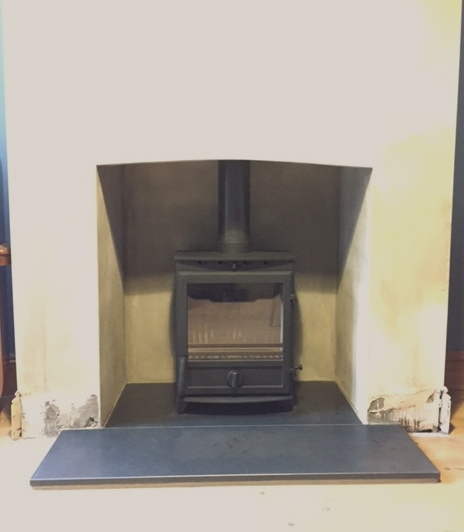 fireplace opening, stove, wood burner, bristol stove installer