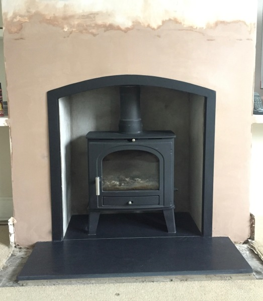 Fireplace opening, wood burner, multifuel stove
