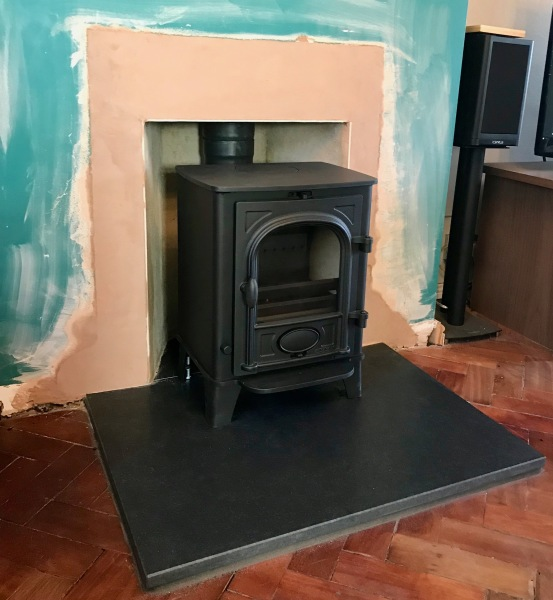 multifuel stove installation, log burning install bristol