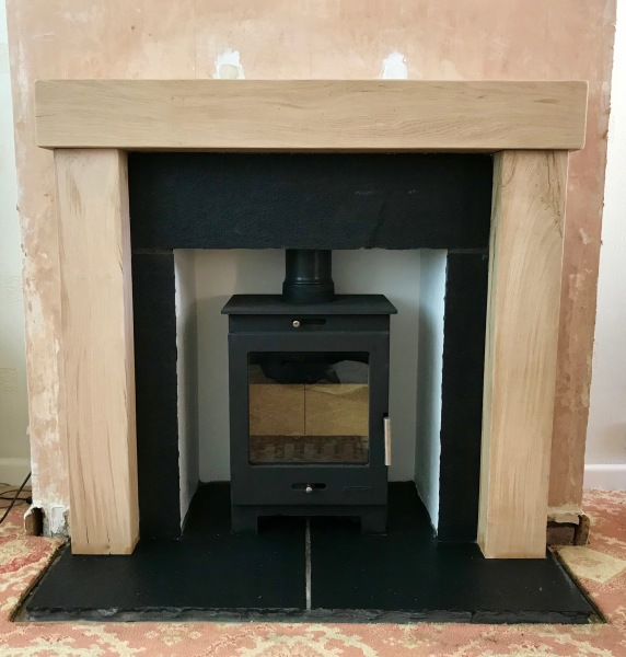 custom fireplace installation, stove install, log burner installation bristol