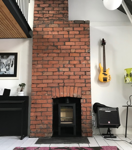 log burner, wood burning stove, fireplace installation